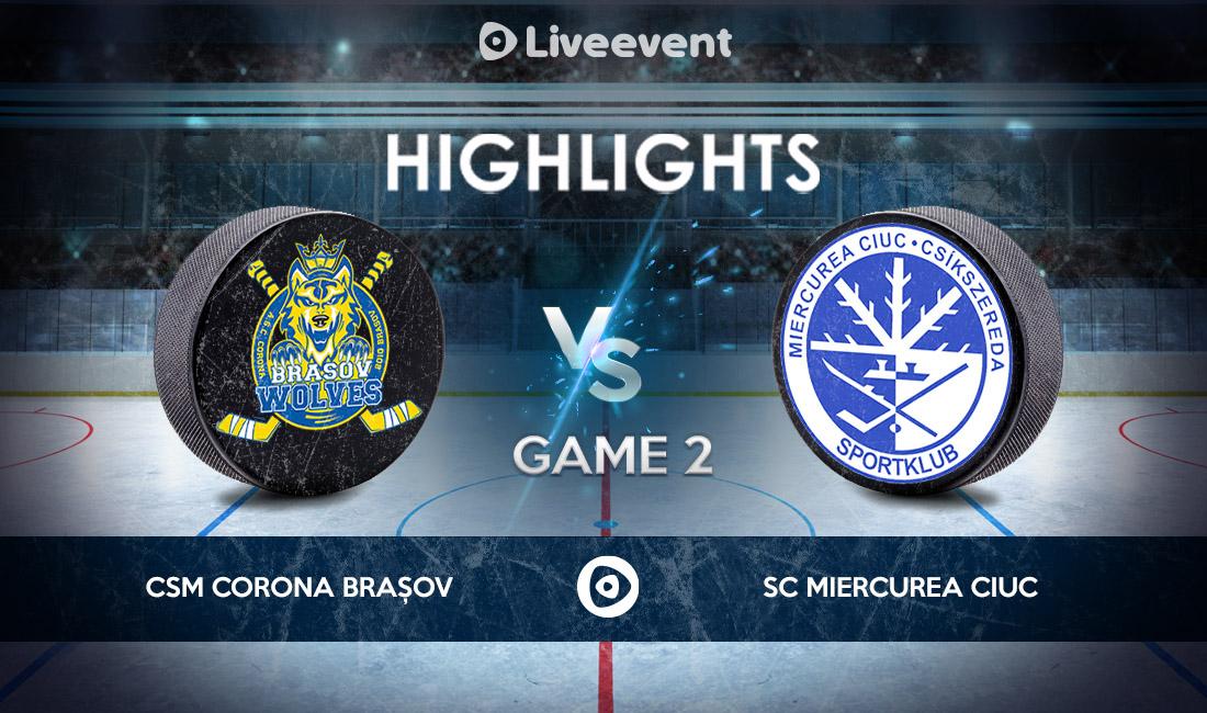Highlights - CSM Corona Brașov vs S.C. Miercurea Ciuc GAME 2 - 30.04.2021