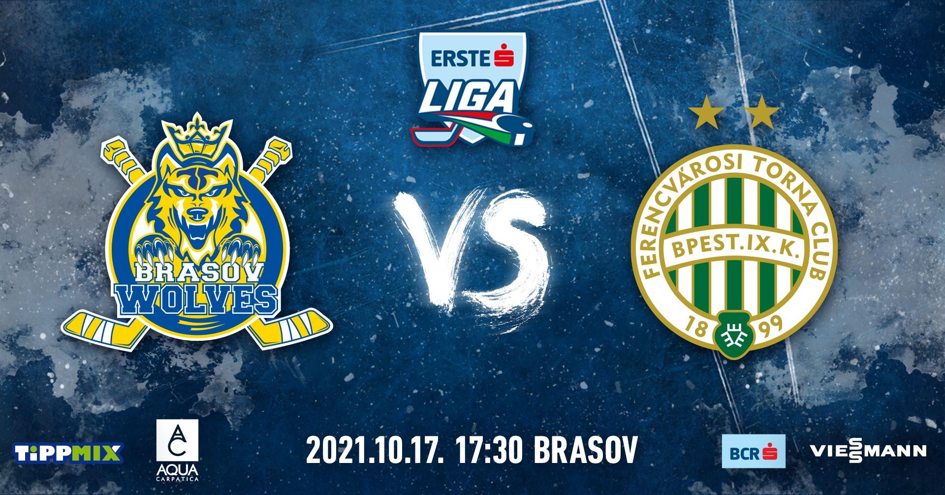 Brașov Wolves vs FTC-Telekom - EL59